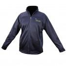 Brushed Back Rushed Back Micro-Fleece Full Zip Jacket-Navy