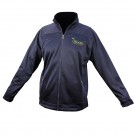 Brushed Back Rushed Back Micro-Fleece Full Zip Jacket-Navy